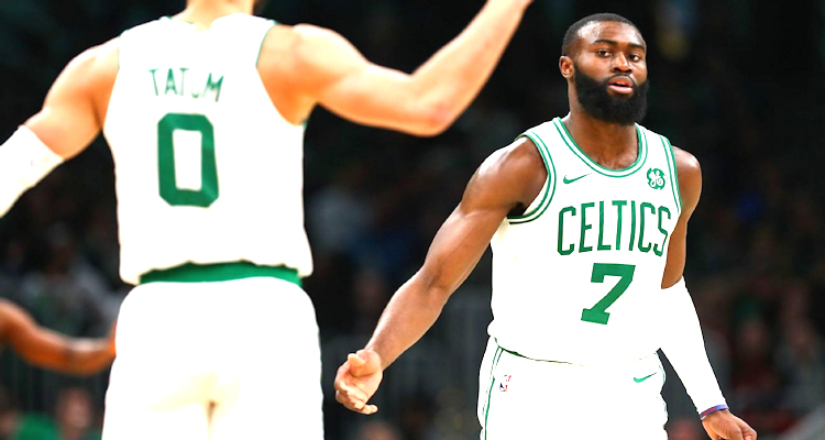 The Celtics will go as far as Brown and Tatum carry them