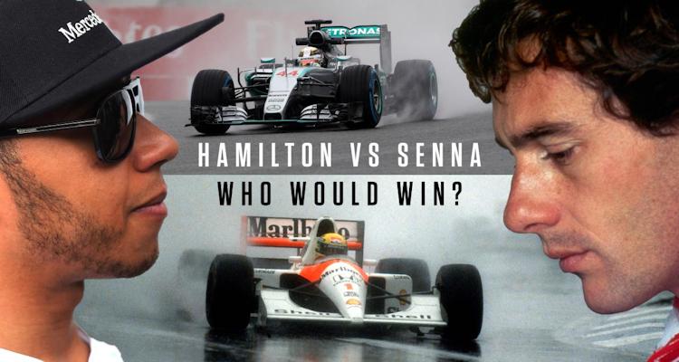 Lewis Hamilton and Schumacher, Senna