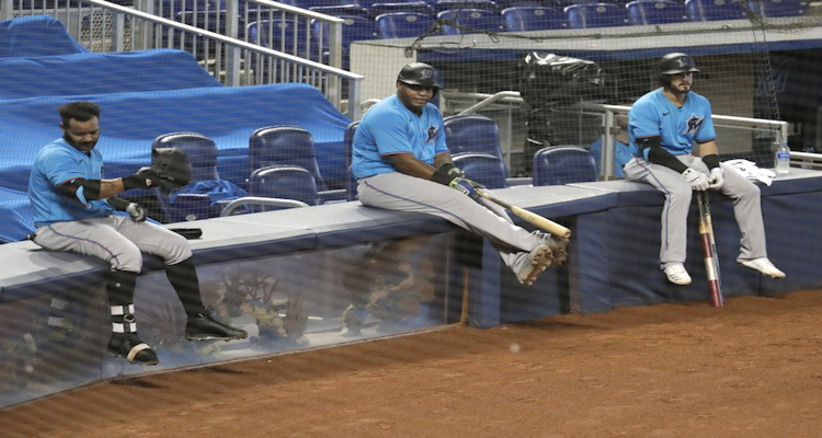 Marlins a late arrival