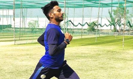 Chetan Sakariya a cricket player