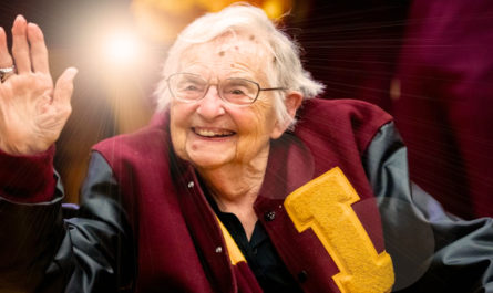 Sister Jean and the love of basketball